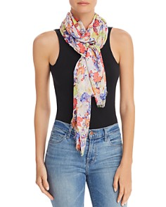 Fraas - Watercolor-Floral Scarf - 100% Exclusive