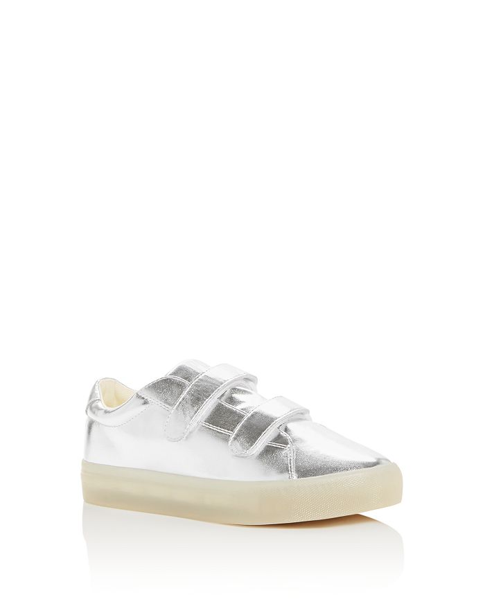 POP SHOES - Unisex St. Laurent Metallic Light-Up Sneakes - Toddler, Little Kid, Big Kid
