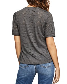 BCBGeneration - Pointelle High/Low Tee