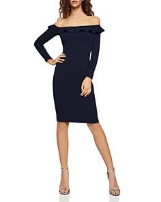 BCBGeneration - Ruffled Off-the-Shoulder Dress