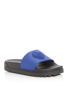 6c1e2fa34 Versus Versace - Men s Lion Slide Sandals ...