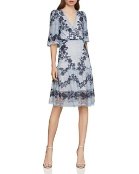 80c8fd2cf4c BCBGMAXAZRIA - Floral-Embroidered Lace Dress ...