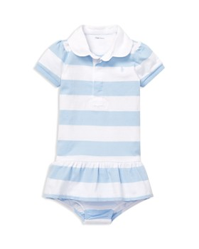 d6dc77e0a Ralph Lauren - Girls' Jersey Rugby Dress & Bloomers Set - Baby ...