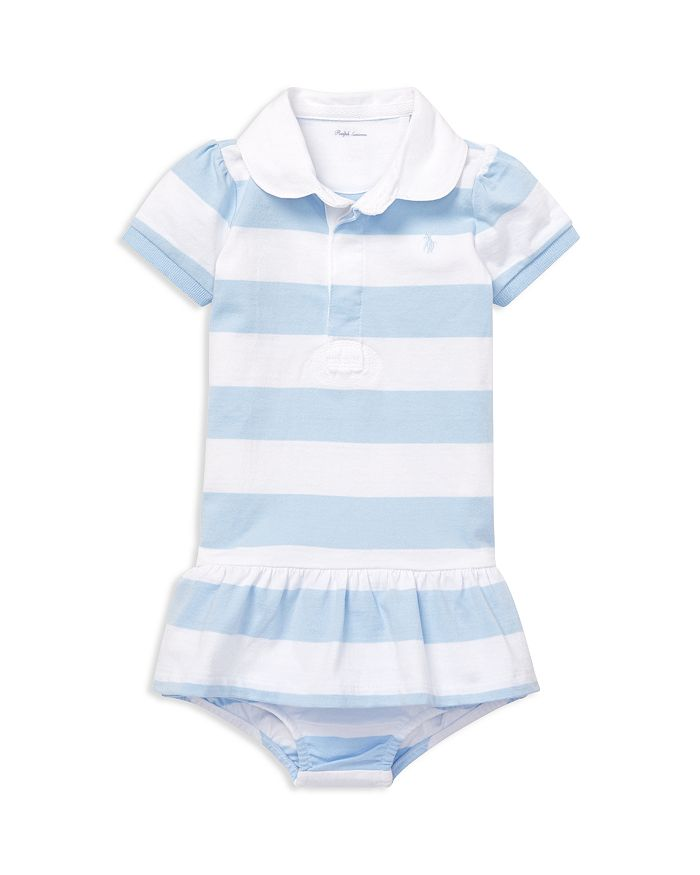 Ralph Lauren - Girls' Jersey Rugby Dress & Bloomers Set - Baby