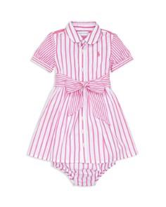 Ralph Lauren - Girls' Striped Dress & Bloomers Set - Baby