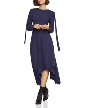 Bcbgmaxazria Asymmetric D-Ring-Tab Dress