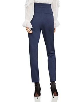f158ed6a1357 BCBGMAXAZRIA - Belted Pleated Ankle Pants BCBGMAXAZRIA - Belted Pleated  Ankle Pants