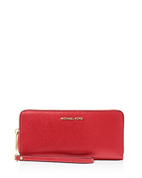 MICHAEL Michael Kors - Wallet - Jet Set Travel Continental Saffiano