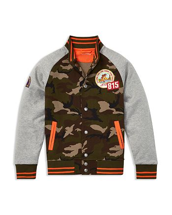 Ralph Lauren - Boys' Camouflage Baseball Jacket - Big Kid