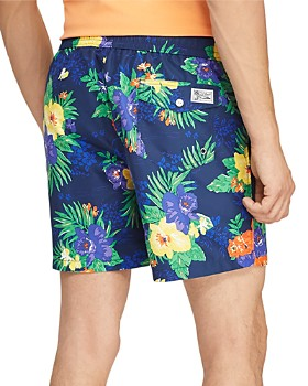 Polo Ralph Lauren - Traveler Tropical Floral-Print Swim Trunks