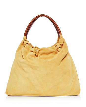 Little Liffner - Medium Double Ring Suede Tote