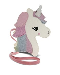 Capelli - Girls' Unicorn Faux-Leather Crossbody Bag