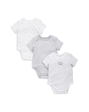 Little Me Boys 3Piece Assorted Gray Bodysuit Set  Baby