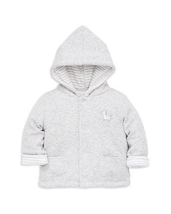 Little Me - Boys' Zebra Reversible Hooded Jacket - Baby