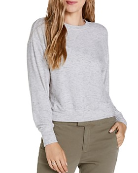Michael Stars - Gigi Lightweight Cropped Sweatshirt