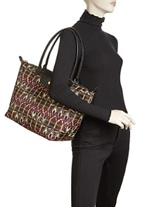 Longchamp - Le Pliage Ikat Large Tote