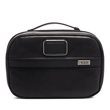 Tumi - Alpha 3 Leather Split Travel Kit
