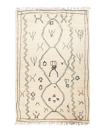 "Solo Rugs - Bedouin Moroccan Area Rug, 5'10"" x 8'10"""