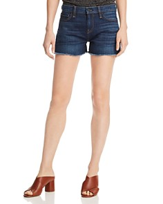 Hudson - Gemma Cutoff Denim Shorts in Nightfall