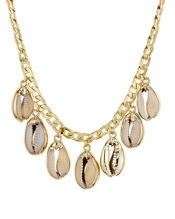 "AQUA - Puka Charm Necklace, 14"" - 100% Exclusive"