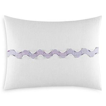 "Vera Wang - Center Scallop Decorative Pillow, 12"" x 16"" - 100% Exclusive"