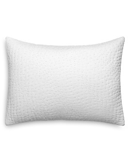 """Vera Wang - Quilted Decorative Pillow, 12"""" x 16"""""""