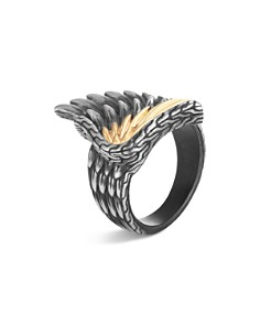 JOHN HARDY - Sterling Silver & 18K Yellow Gold Legends Eagle Ring
