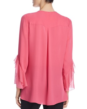 187dfb211e338 ... Elie Tahari - Karin Pintucked Silk Blouse