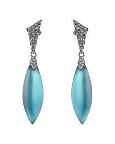 Alexis Bittar - Crystal-Encrusted Dangling Earrings