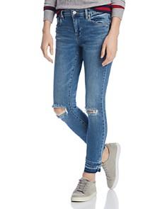 BLANKNYC - Distressed Skinny Jeans in Dance Off