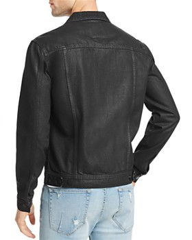 BLANKNYC - Coated Denim Trucker Jacket