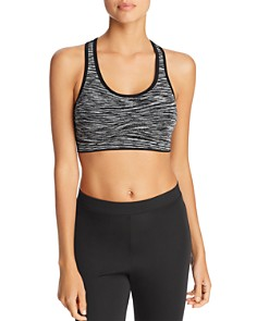 Marc New York - Space Dyed Cutout Sports Bra