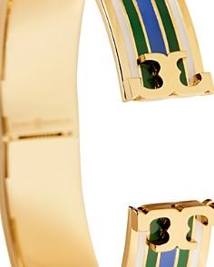 Tory Burch - Raised Logo Printed Bangle Bracelet