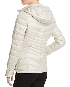 Calvin Klein - Packable Short Chevron-Quilted Down Coat