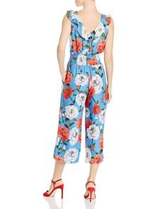 Parker - Elara Ruffled Floral Print Jumpsuit