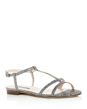 SJP by Sarah Jessica Parker - Women's Honoree Glitter T-Strap Sandals
