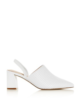 Rachel Zoe - Women's Liza Pointed-Toe Block-Heel Mules