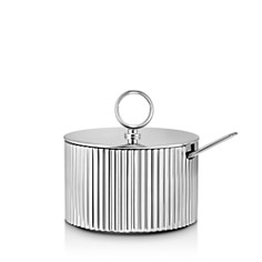 Georg Jensen - Bernadotte Sugar Bowl & Spoon Set