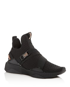 PUMA - Women's x SG Defy Knit Mid-Top Sneakers
