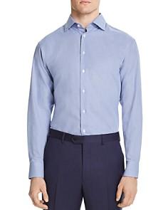 Armani - Micro-Zigzag Classic Fit Dress Shirt