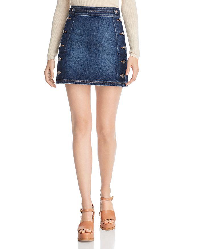 Current/Elliott - The Ballast Denim Skirt