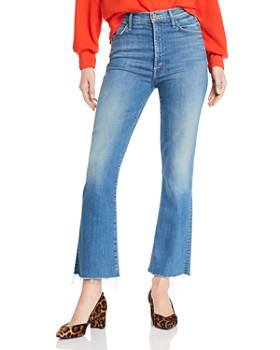 243a1ab703 MOTHER - The Hustler Flared Jeans in Wishful Drinking ...