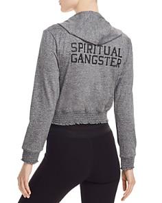 Spiritual Gangster - Inner Light Cropped Hoodie