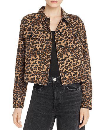 AQUA - Cheetah-Print Jacket - 100% Exclusive