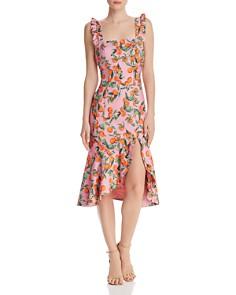 Finders Keepers - Aranciata Ruffle Strap Dress