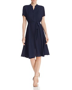 nanette Nanette Lepore - Pintuck Detail Dress