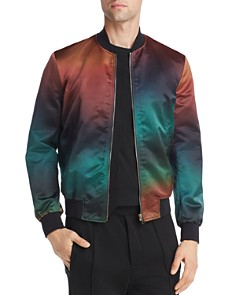 Paul Smith - Degrade Satin Bomber Jacket
