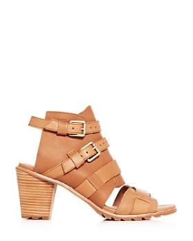 Sorel - Women's Nadia Buckled High-Heel Sandals