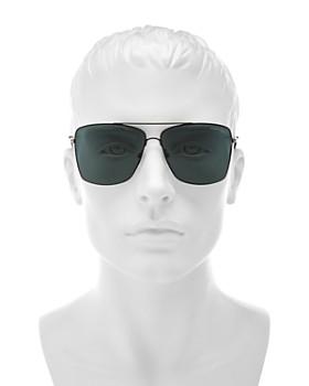 Tom Ford - Men's Magnus Brow Bar Aviator Sunglasses, 60mm