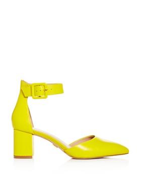 Kurt Geiger - Women's Burlington Ankle-Strap Pointed-Toe Pumps